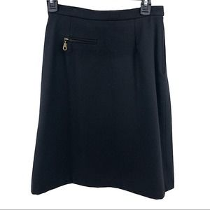 Harris/Wallace 100% Wool Knee-length Skirt Size 4